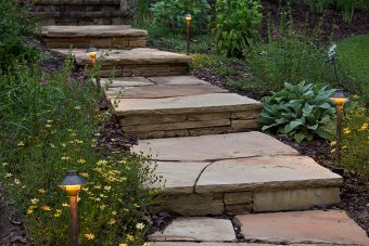 path-lighting-helps-create-a-warm-ambiance-for-evening-strolls-on-stone-walkways