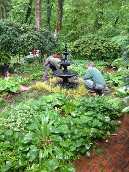 Landscaper Design Contractors Experience With Water Features, Pumps and filters allows us to upgrade your front yard or backyard water fountains system - Landscape Services Near Me IMG 1