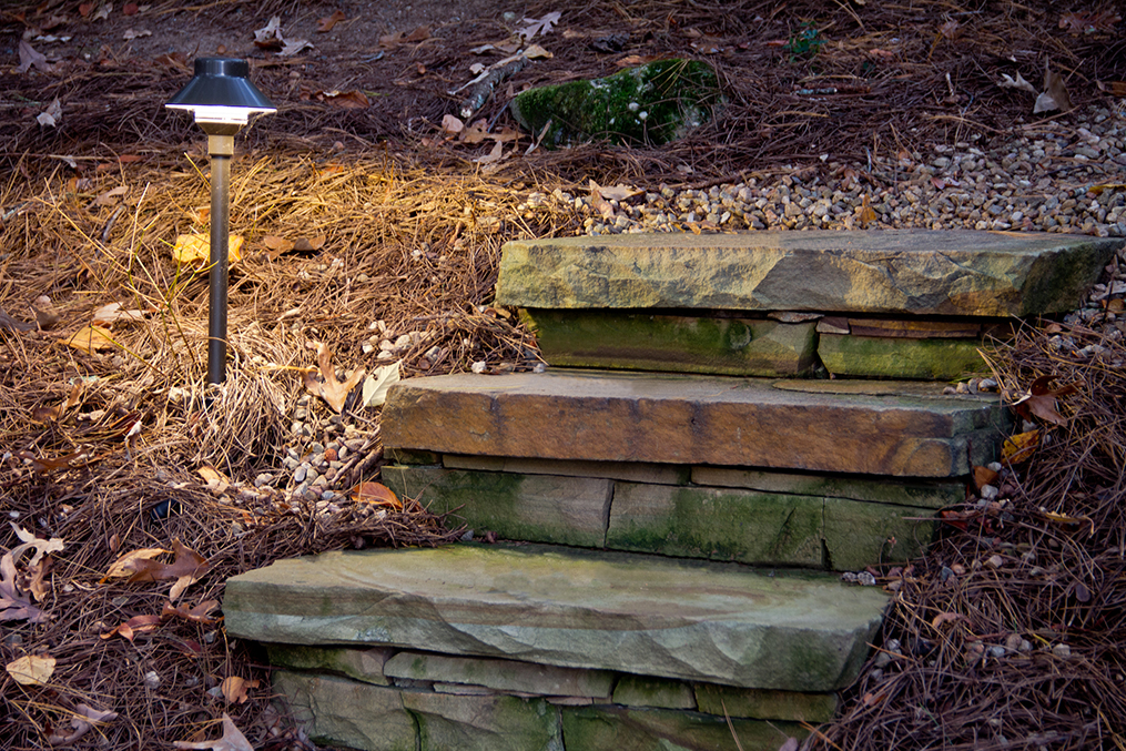 Landscaping Near Me - Hardscaped Stone Walkway and Staircase IMG