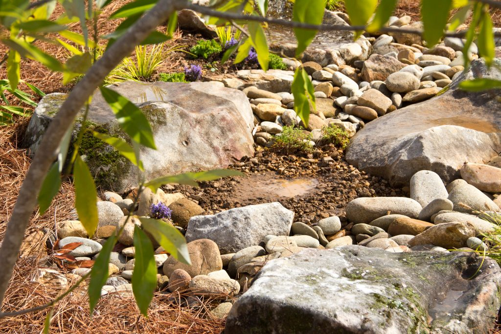 landscape gardeners water features near me - Natural Monarch Garden IMG