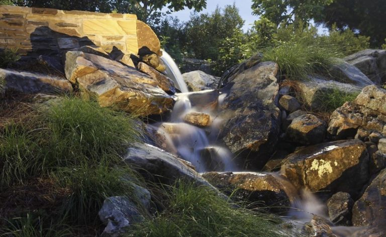 Residential Landscaping and Irrigation Services Near Me - Outdoor Water Features After IMG