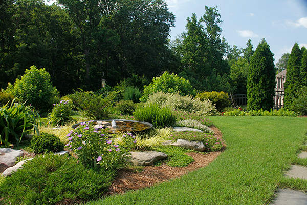 Outdoor Landscapes Company Near Me - Modern Residential Landscaping After IMG