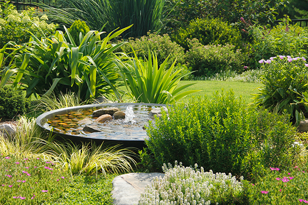 outdoor water fountains near me - Small Backyard Landscaping Design Ideas IMG