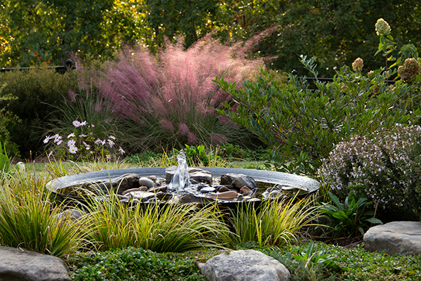 Small Garden Ideas For Residential Landscaping - Outdoor Water Fountains IMG