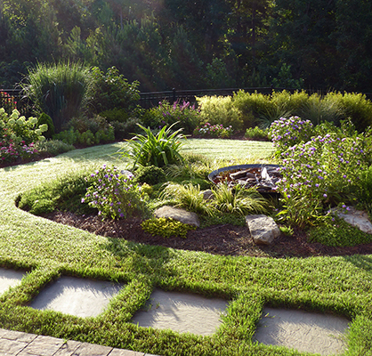 commercial landscaping near me - Small Garden with Landscaping Stones IMG