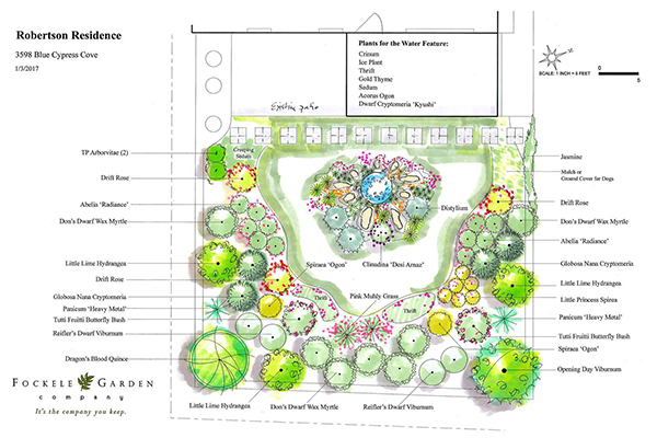 professional landscaping services near me - Robertson Small Garden Plan Rendered IMG