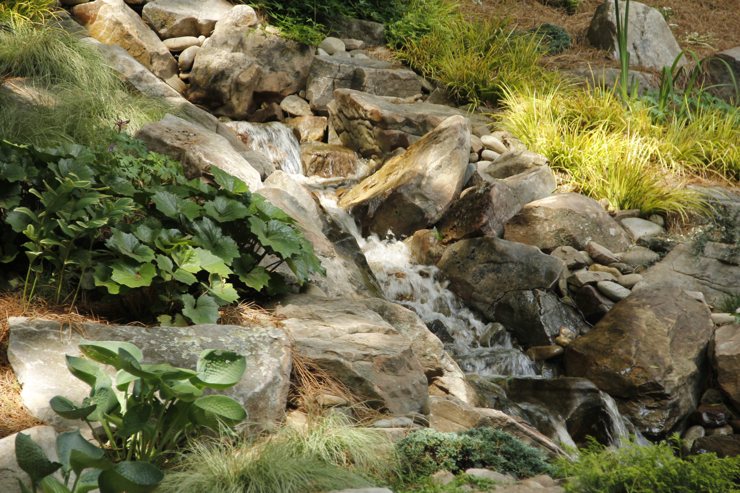 outdoor water fountains near me - Gardens Streams and Waterfalls IMG