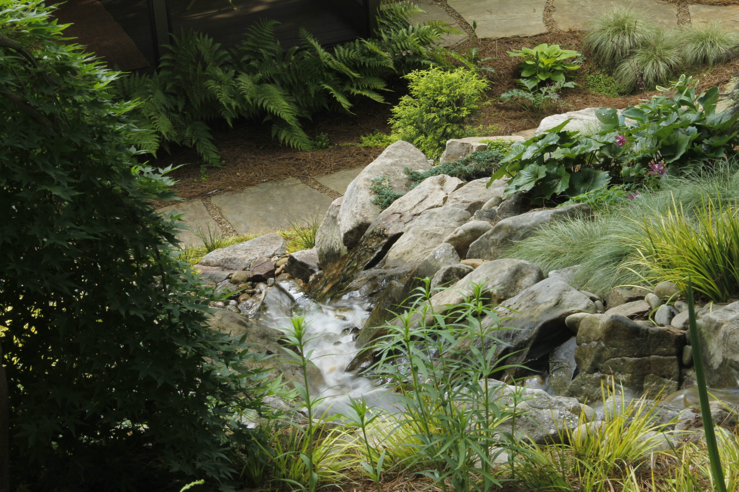 small backyard landscaping near me - rock garden designs IMG