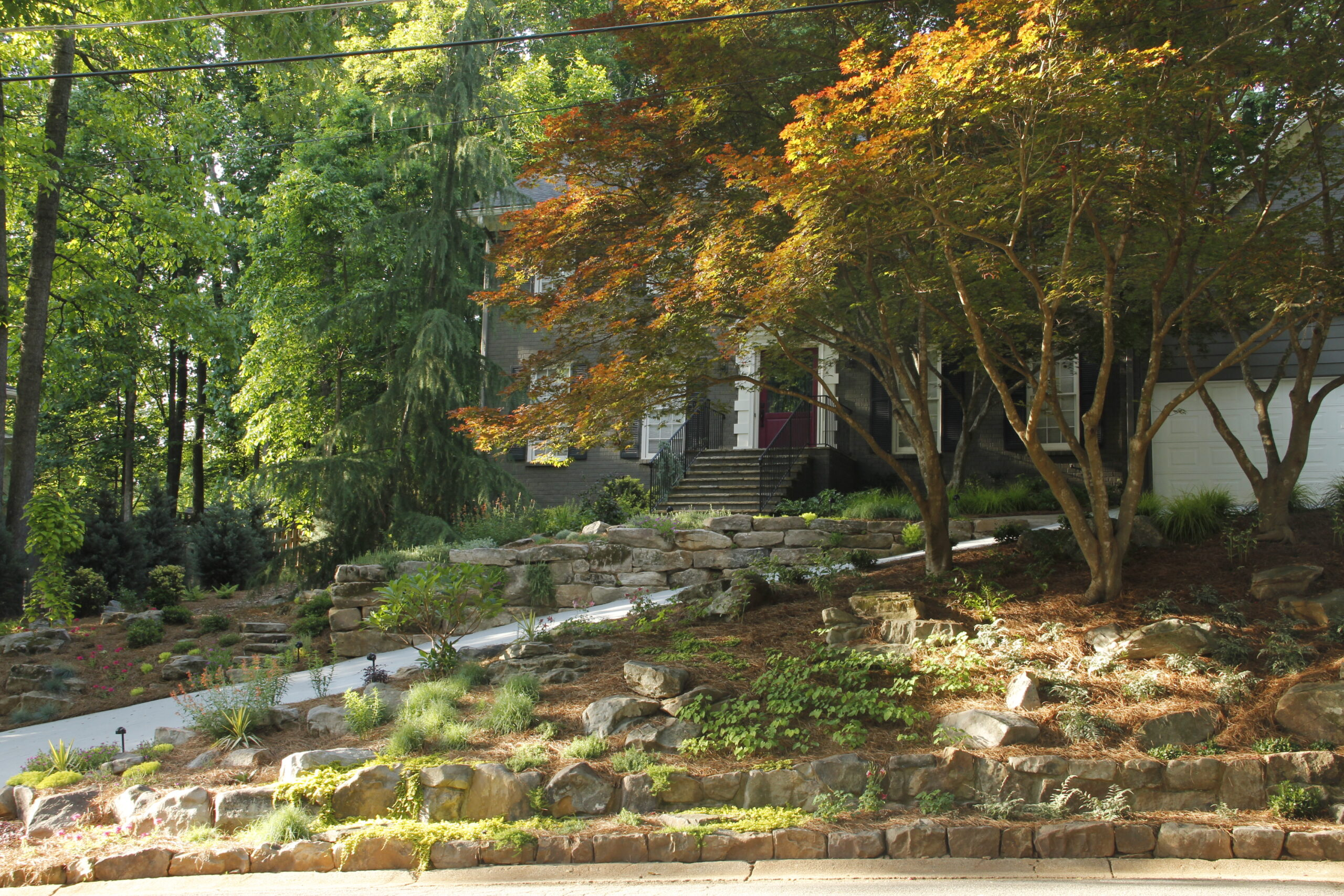 landscape contractors near me - how to build a garden stream IMG