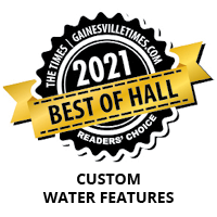 Local landscaping companies near me - Best Of Hall County for Custom Water Features 2021 IMG